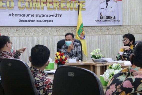 Pemprov Lampung Gelar Rapat Bahas Inovasi Teknologi