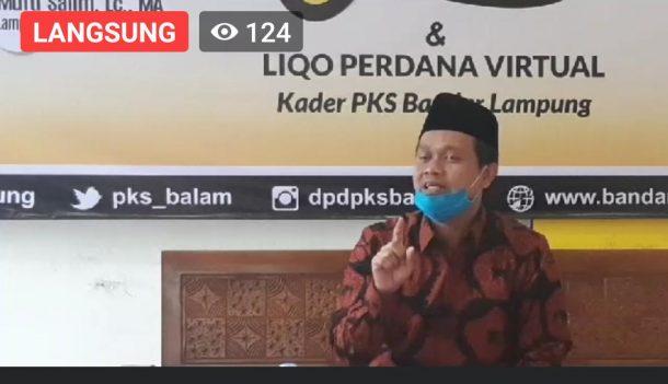 Antoni Imam Berbagi Nasi Cinta dan Masker di Katibung, Ajak Warga Pahami Konsep Normal Baru
