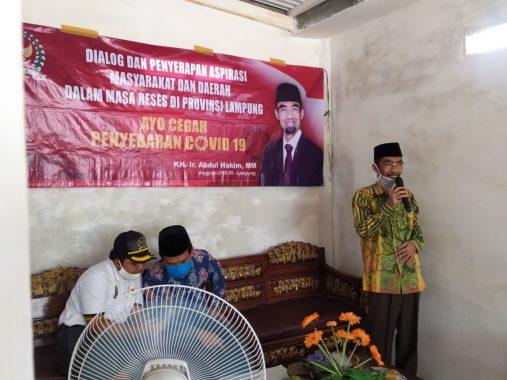 Abdul Hakim Serap Aspirasi di Mulyojati Metro Barat
