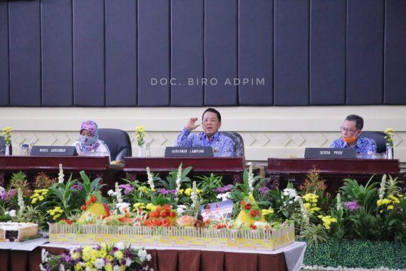 HUT Ke-338 Bandar Lampung, Agus Djumadi: Jangan Saling Menyalahkan