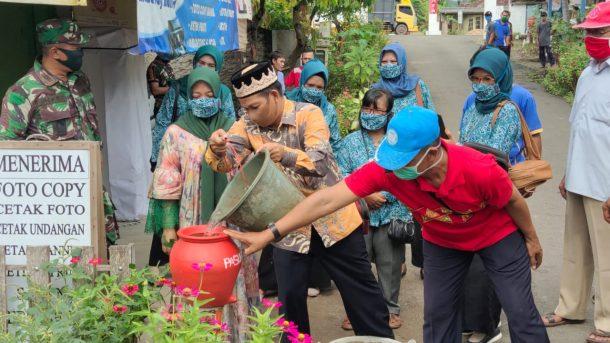 Pemerintah Desa Pasuruan Lampung Selatan Isi Normal Baru dengan Tradisi Leluhur