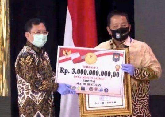 Lampung Raih 3 Penghargaan Lomba Inovasi Daerah, Gubernur Arinal Djunaidi Terima Miliaran Rupiah Dana Insentif Daerah
