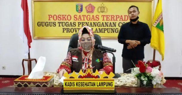 Positif Covid-19 di Lampung per Kamis 25 Juni 2020 Tambah 4 Orang, 1 Warga Pringsewu, 3 Lampung Utara