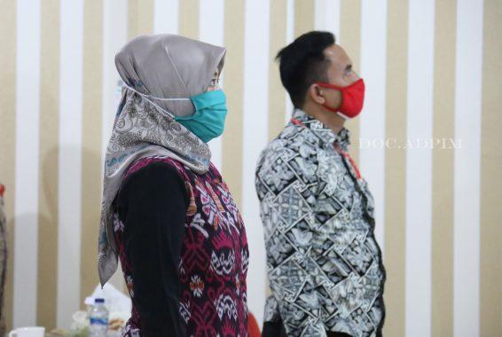 Wakil Gubernur Lampung Chusnunia Hadiri Hari Anti-Narkotika Internasional Virtual dengan Wapres