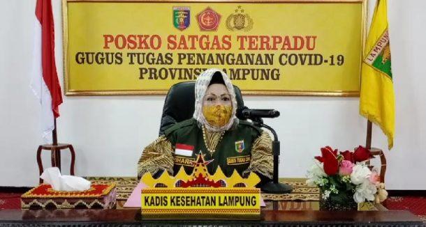 Ada Penambahan 1 Kasus, Pasien Terkonfirmasi Positif Covid-19 di Lampung Jadi 188 Orang