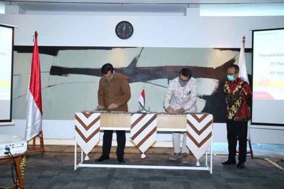 PGN dan Krakatau Steel Teken Perjanjian Jual-Beli Gas