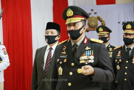 Gubernur Arinal Djunaidi Hadiri Peringatan Hari Bhayangkara secara Virtual