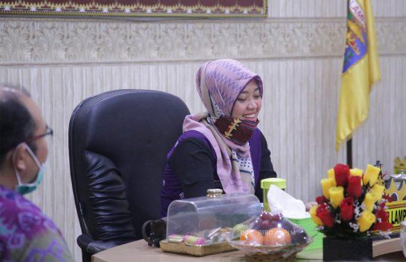 Pemprov Lampung Gelar Rakor Pengawasan Percepatan Penanganan Covid-19