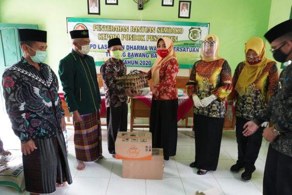 Kornelia Umar Ahmad Ingin Ponpes di Tulangbawang Barat Makin Maju
