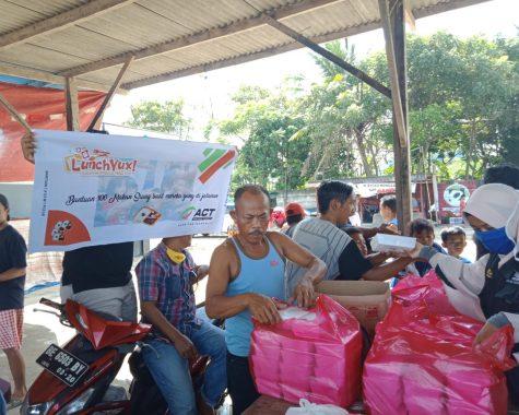 Pebisnis Muda Ini Bantu Nelayan Sukaraja, Gandeng ACT Lampung untuk Kemanusiaan