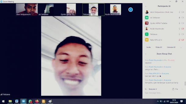 Teki Prasetyo Sulaksono Terpilih Ketua Korps Alumni Kapal Pemuda Nusantara Lampung