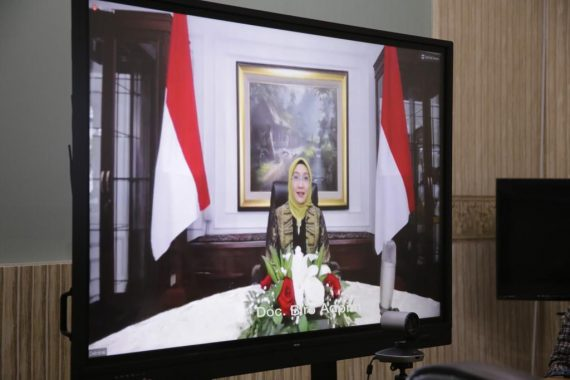 Riana Sari Arinal Ikuti Webinar Dewan Kerajinan Nasional