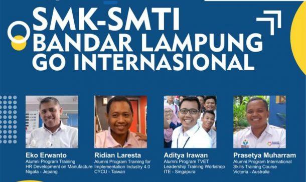 Siap Go International, SMK SMTI Bandar Lampung Hadirkan Alumni Berprestasi dan Guru Profesional dan Berkompeten