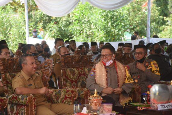 Bupati Tulangbawang Barat Umar Ahmad Apresiasi Kampung Tangguh Nusantara