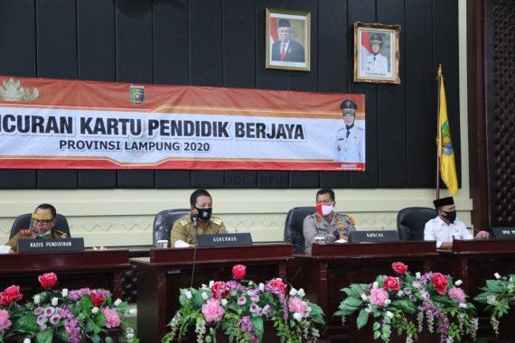 Gubernur Lampung Arinal Djunaidi Luncurkan Kartu Pendidik Berjaya