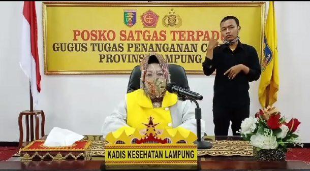Update Covid-19 di Lampung Hari Selasa 7 Juli 2020