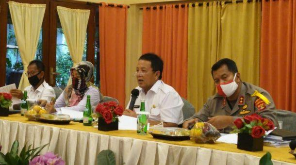 Gubernur Arinal Djunaidi Pimpin Rapat Kesiapan Lampung Hadapi Normal Baru