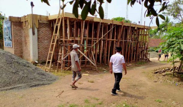 Antoni Imam Sambangi Desa Seloretno Sidomulyo Lampung Selatan, Bahagia Lihat Musala Darul Ulum Sedang Dicor Atapnya