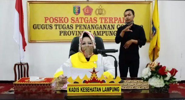 Ada Tambahan Kasus Positif Covid-19 di Lampung, 1 Asal Lampung Timur, 1 Asal Lampung Selatan