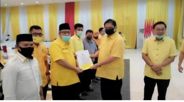 Tony Eka Candra dan Antoni Imam Resmi Diusung Golkar Pilkada Lampung Selatan