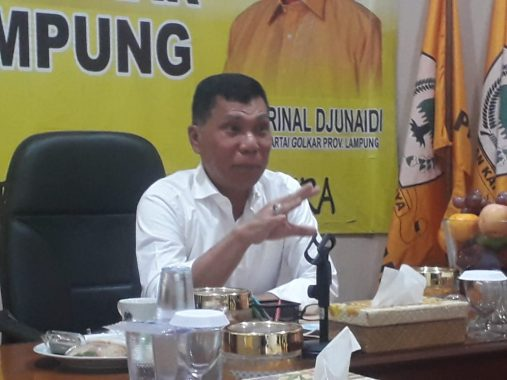 Ismet Roni Paparkan Dukungan Golkar untuk Pilkada Lampung Selatan dan Way Kanan