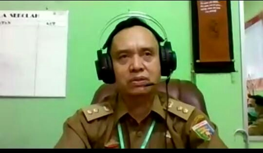 Kepala SMAN 2 Bandar Lampung Hendra Putra Tutup Masa Pengenalan Lingkungan Sekolah Secara Virtual