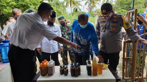 Plt Bupati Lampung Utara Resmikan Kampung Tangguh Nusantara