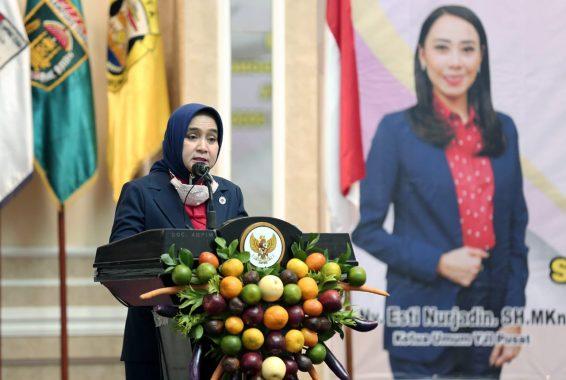 Riana Sari Arinal Lantik Pengurus Yayasan Jantung Indonesia Kabupaten/Kota di Lampung