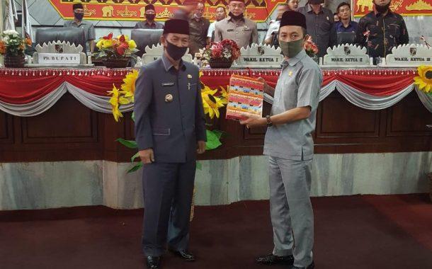DPRD Lampung Utara Gelar Paripurna Bahas Keterangan Plt Bupati
