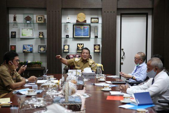 Gubernur Lampung Arinal Djunaidi Siap Lakukan Terobosan Pada Ajang Internasional di Singapura