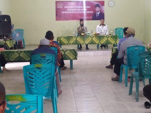 Abdul Hakim Dialog Bareng Aparatur Desa Purworejo Kecamatan Negeri Katon Pesawaran