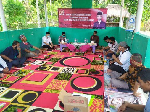 Abdul Hakim Dialog Bersama Tokoh Masyarakat Tanjung Bintang Lampung Selatan