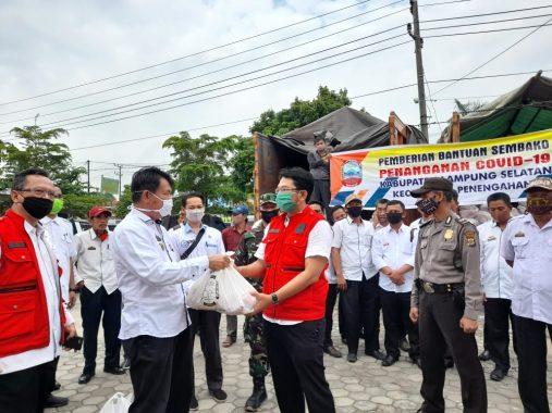Pemkab Lampung Selatan Salurkan 2.073 Paket Sembako Bagi Warga Penengahan