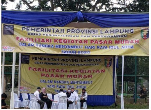 Warga Kota Metro Keluhkan Pasar Murah Dinas Perdagangan Provinsi Lampung, Ini Sebabnya