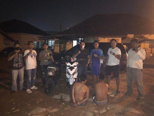 Tekab 308 Satreskrim Polres Metro Amankan Dua Pelaku Curanmor Asal Lampung Timur