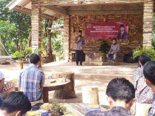 Relawan Hipni-Melin Se-Natar Kumpul Bulatkan Tekad Menangkan Pilkada Lampung Selatan