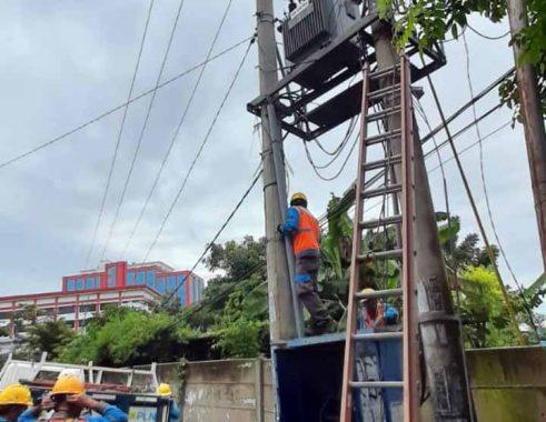Kabel Listrik PLN Dicuri, Alat Elektronik Ratusan Warga Telukbetung Utara Rusak