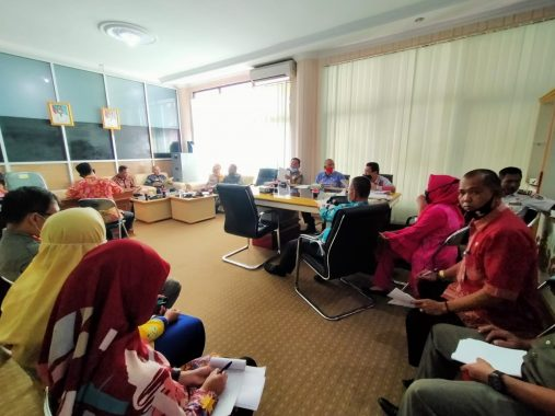 Pemkab Tanggamus Rapat Bahas HUT Ke-75 RI