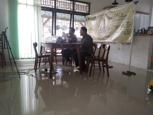 Rumah Kolaborasi dan AJI Bandar Lampung Cari Solusi Panas Bumi untuk Agribisnis