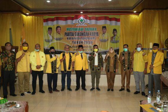 Bupati Dewi Handajani Hadiri Musda Partai Golkar Tanggamus