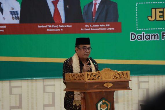 Didampingi Gubernur Lampung, Menteri Agama Resmikan Pembangunan Asrama Haji