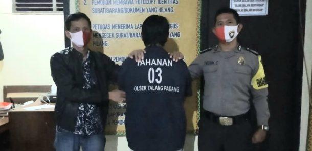 Keroyok dan Bacok Rekan Sesama Sopir, Pria Ini Ditangkap Polsek Talang Padang Tanggamus
