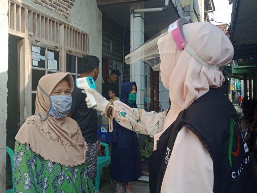 Program Dapur Qurban Lampung, Warga Warga Kampung Gubuk Sero Makan Satai Bareng