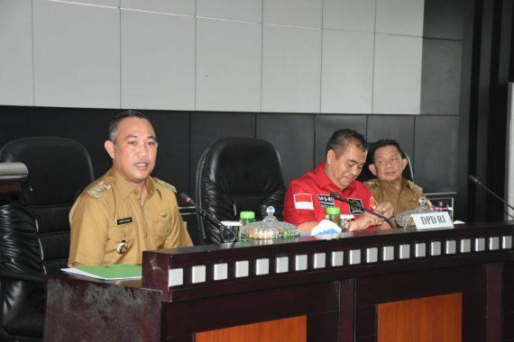 Anggota DPD RI Bustami Zainudin Serap Aspirasi Pembangunan di Tubaba