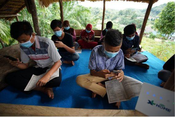 Permudah Pelajar Ikuti PJJ, XL Axiata Dukung Akses Internet di Perdesaan