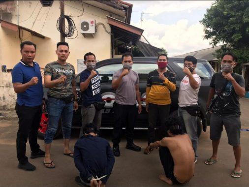 Sat Reskrim Polres Metro Amankan Spesialis Pembobol Ruko