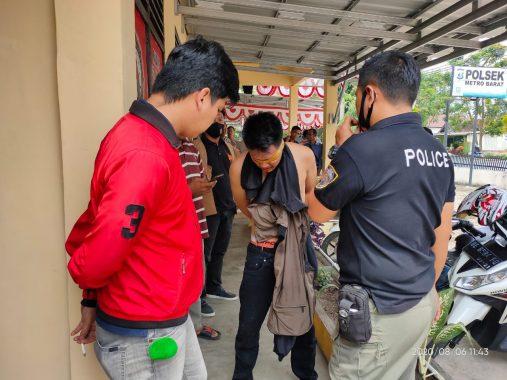 Spesialis Pembobol Rumah Asal Lampung Timur Diamankan Polsek Metro Barat