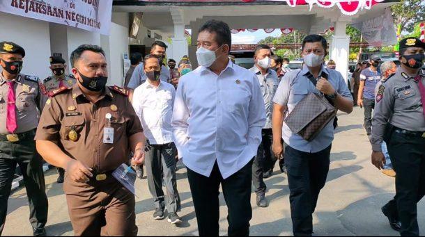 Kunjungi Metro, Jaksa Agung Minta Kejari Ungkap Lebih Banyak Kasus Korupsi