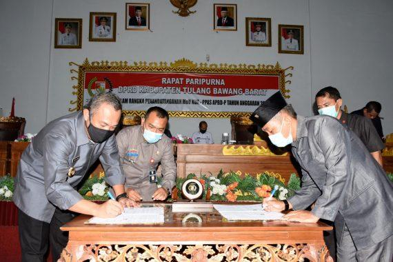 Pemkab Tubaba Segera Ajukan Raperda APBD Perubahan 2020, Umar Ahmad Harap DPRD Segera Membahas