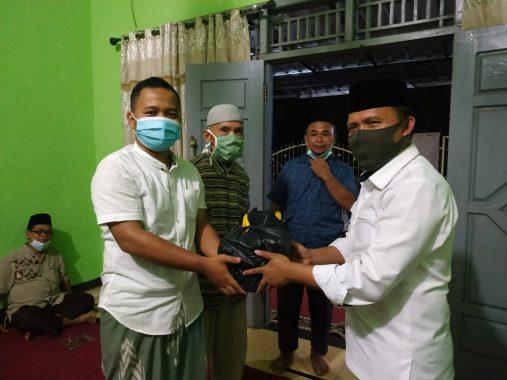 Jejamo.com-ACT Lampung Bagikan Bingkisan Program Lumbung Sedekah Pangan di Hajimena Natar